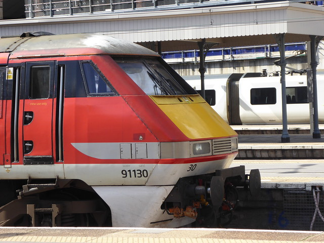 91130 at London King's Cross (24/9/20)