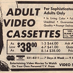 Thu, 2020-09-24 12:09 - For Sophisticated Adults Only, 1980 ad for adult video cassettes