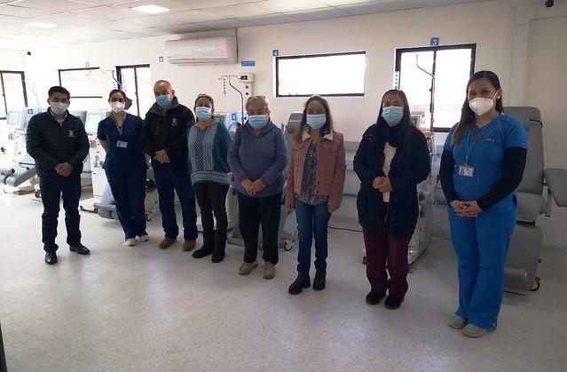 Hospital Regional de Rancagua firma convenio con Centro de Di�lisis Municipal de Coltauco