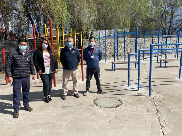 Coltauco realiza importante remodelaci�n en  gimnasio y otros recintos municipales