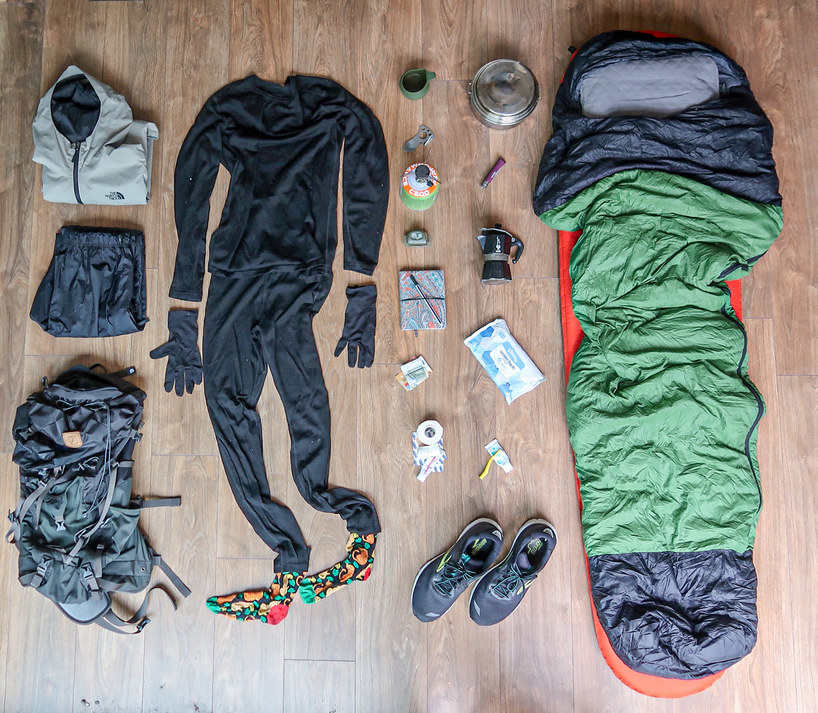 Essential packing list
