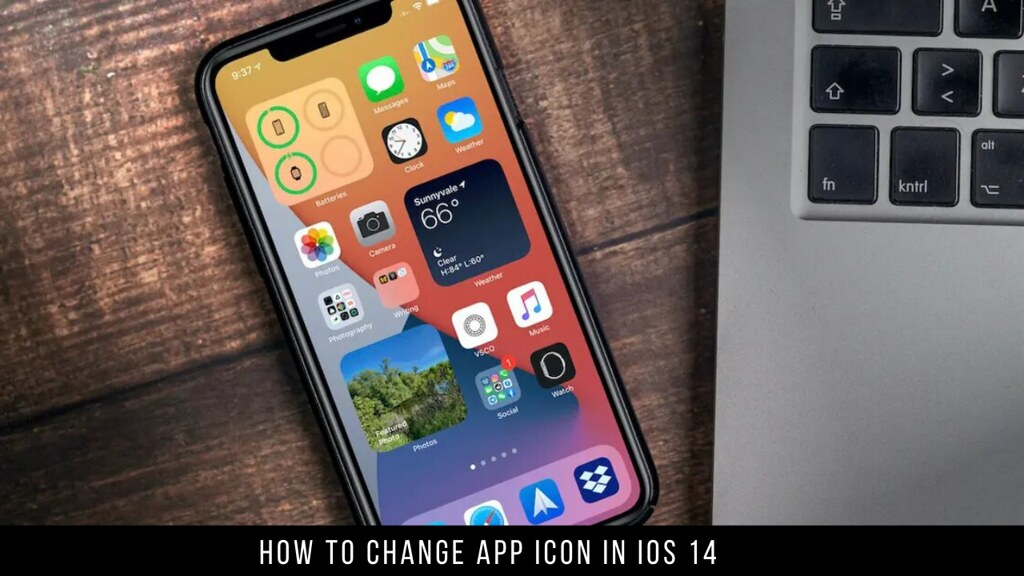 How to change app icon in iOS 14