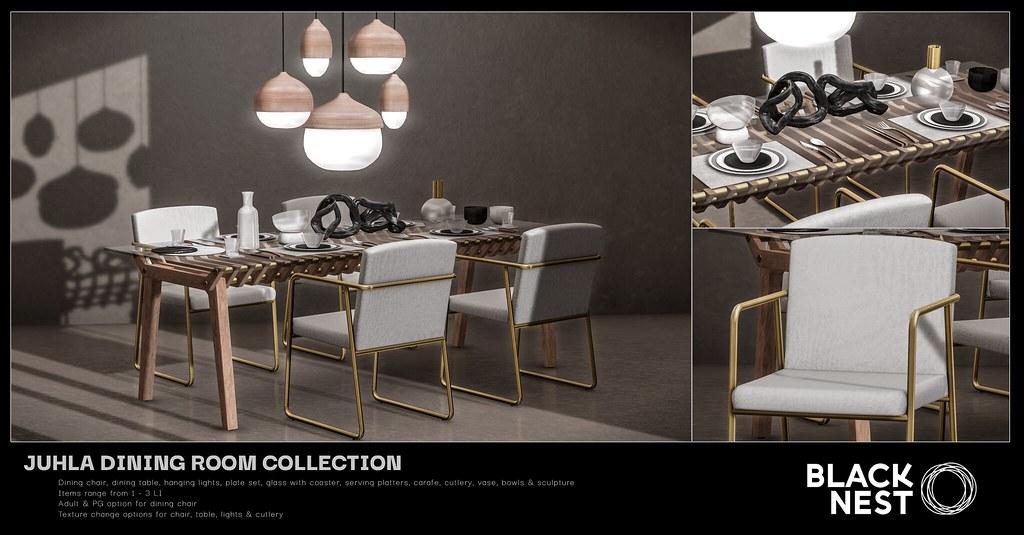 BLACK NEST / Juhla Dining Room Collection / Uber