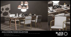 BLACK NEST / Juhla Dining Room Collection / Uber