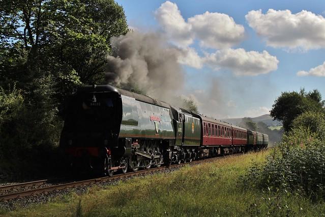 34092 'City of Wells'   Edenfield Bypass   East Lancashire Railway   12.08.2017
