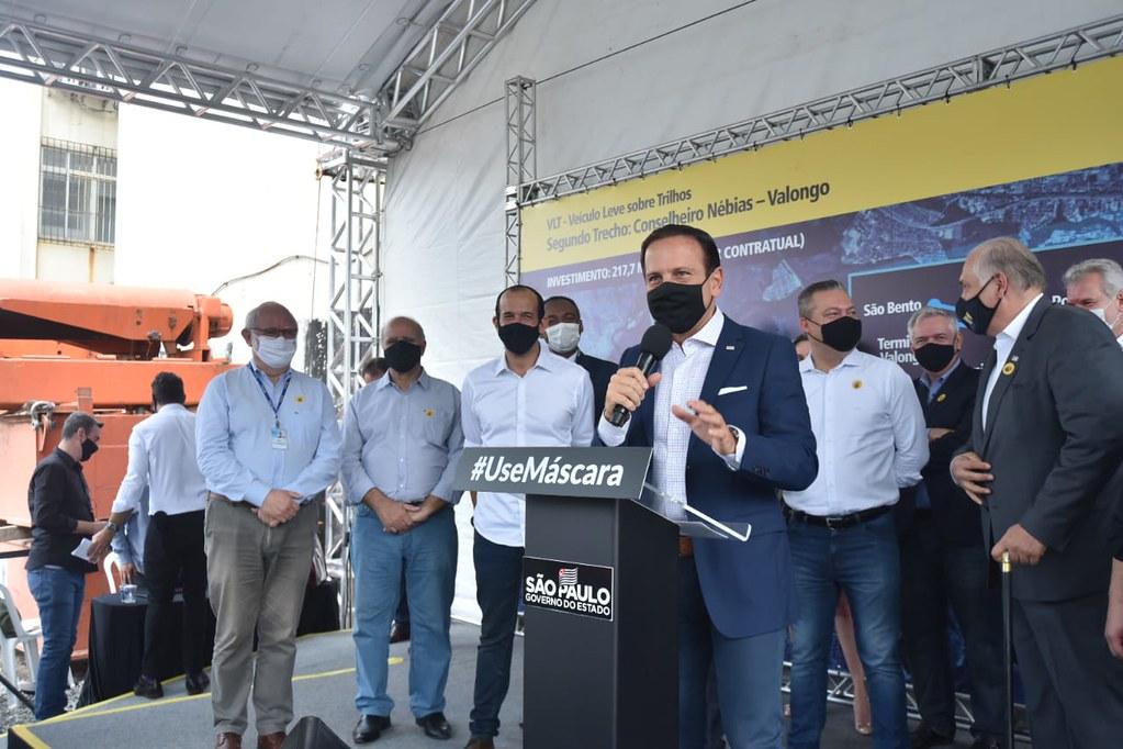 Início das obras do VLT com Secretário Executivo Paulo Galli