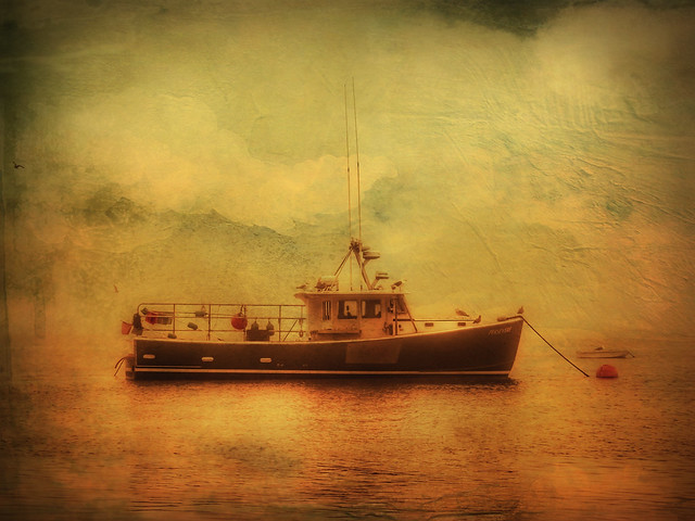 Another Fishing Boat near the Chatham Pier, September 2020