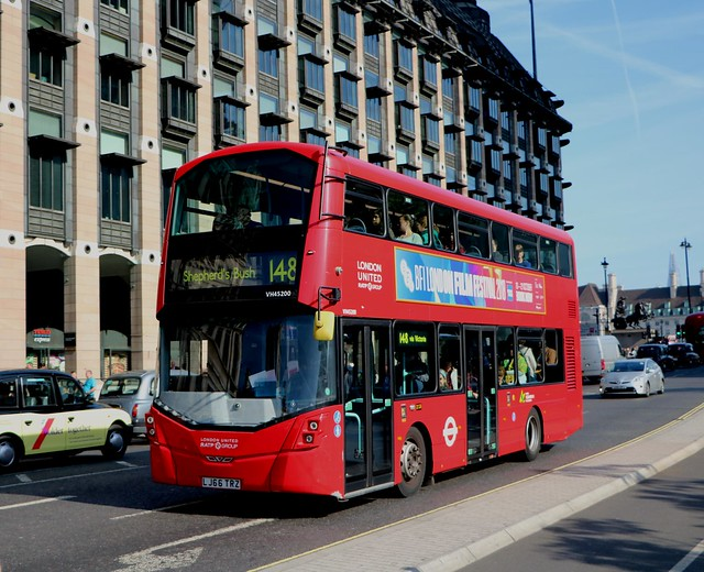 RATP London United - VH45200 - LJ66TRZ