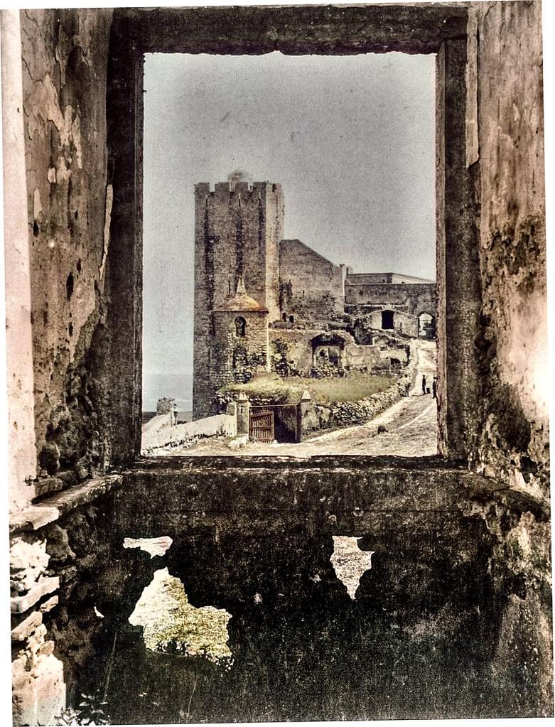 Castello, Palmella, 1935. Fotoipia animada de original deB. Korhmann, in Fototeca Alemã.