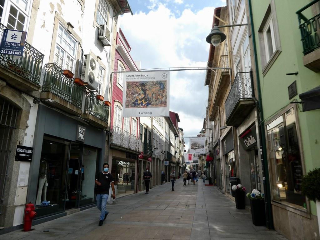 The medieval centre of Braga