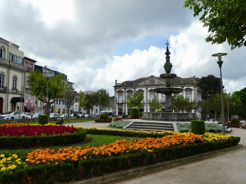 Campo das Hortas gardens, Braga