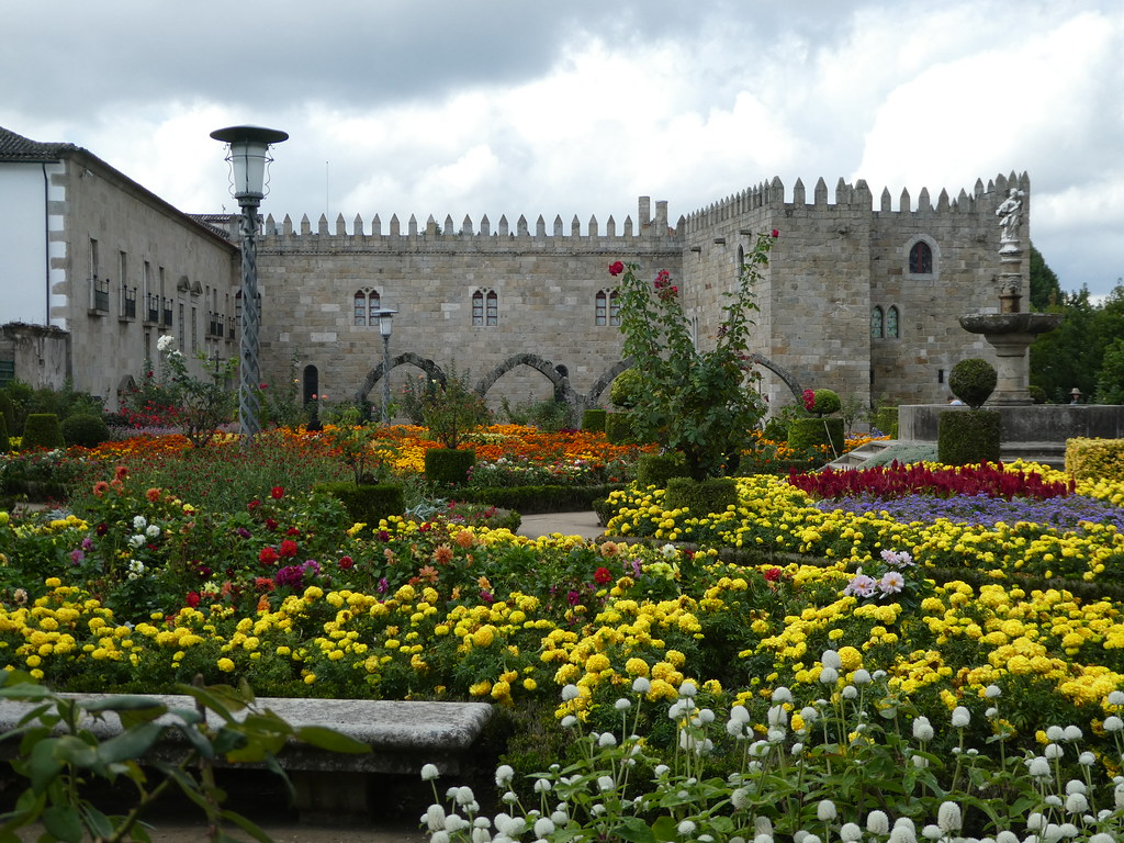 Gardens of Santa Barbara, Braga