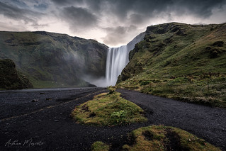 Skógafoss Waterfall (Iceland) | by Andrea Moscato