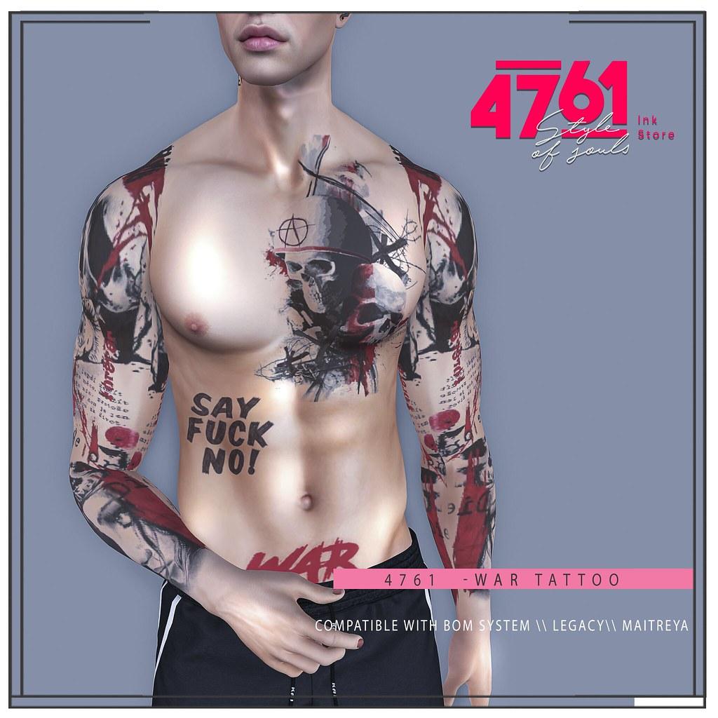 4761 – War Tattoo