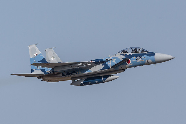 72-8090, McDonnell Douglas F-15JD Japan Air Self Defence Forces @ Nyutabaru RJFN