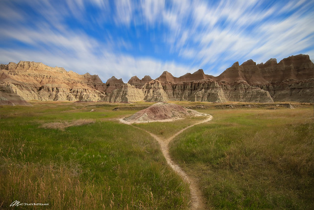 Passing time in Badlands National Park