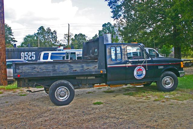Laurinburg Southern  RR, F250 Super Duty Dump Truck