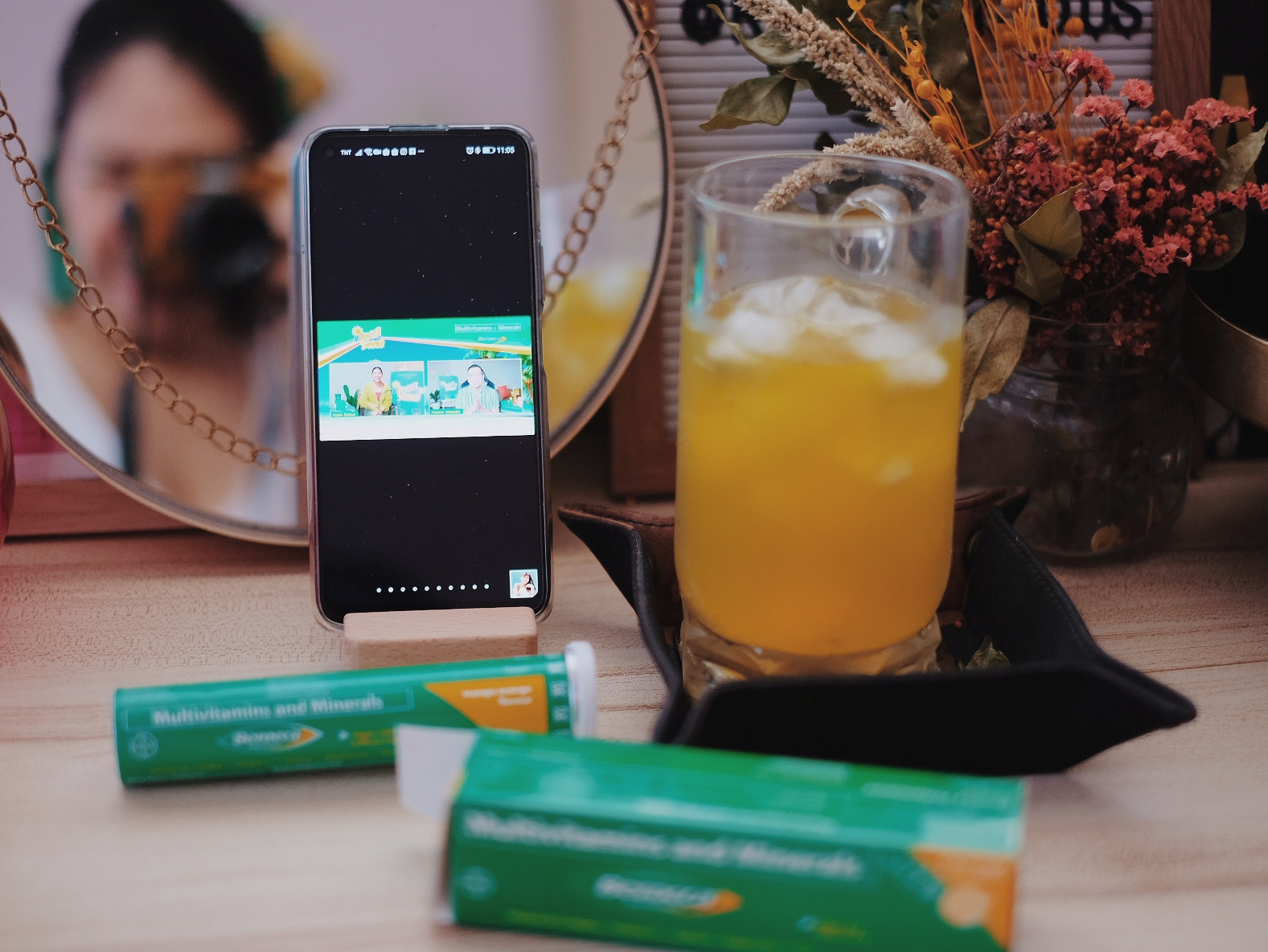 A Taste of Summer with Berocca Mango-Orange Flavor