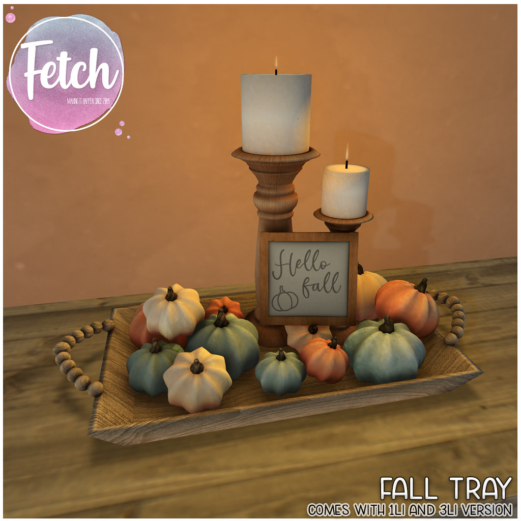 [Fetch] Fall Tray @ Fifty Linden Friday!