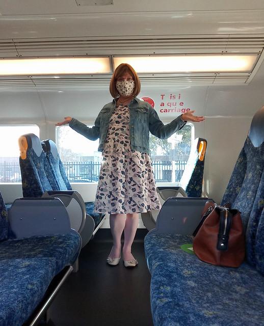Alone On A Train