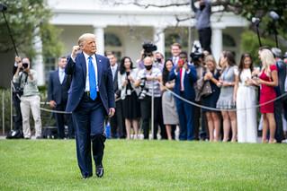 President Trump Travels to North Carolina