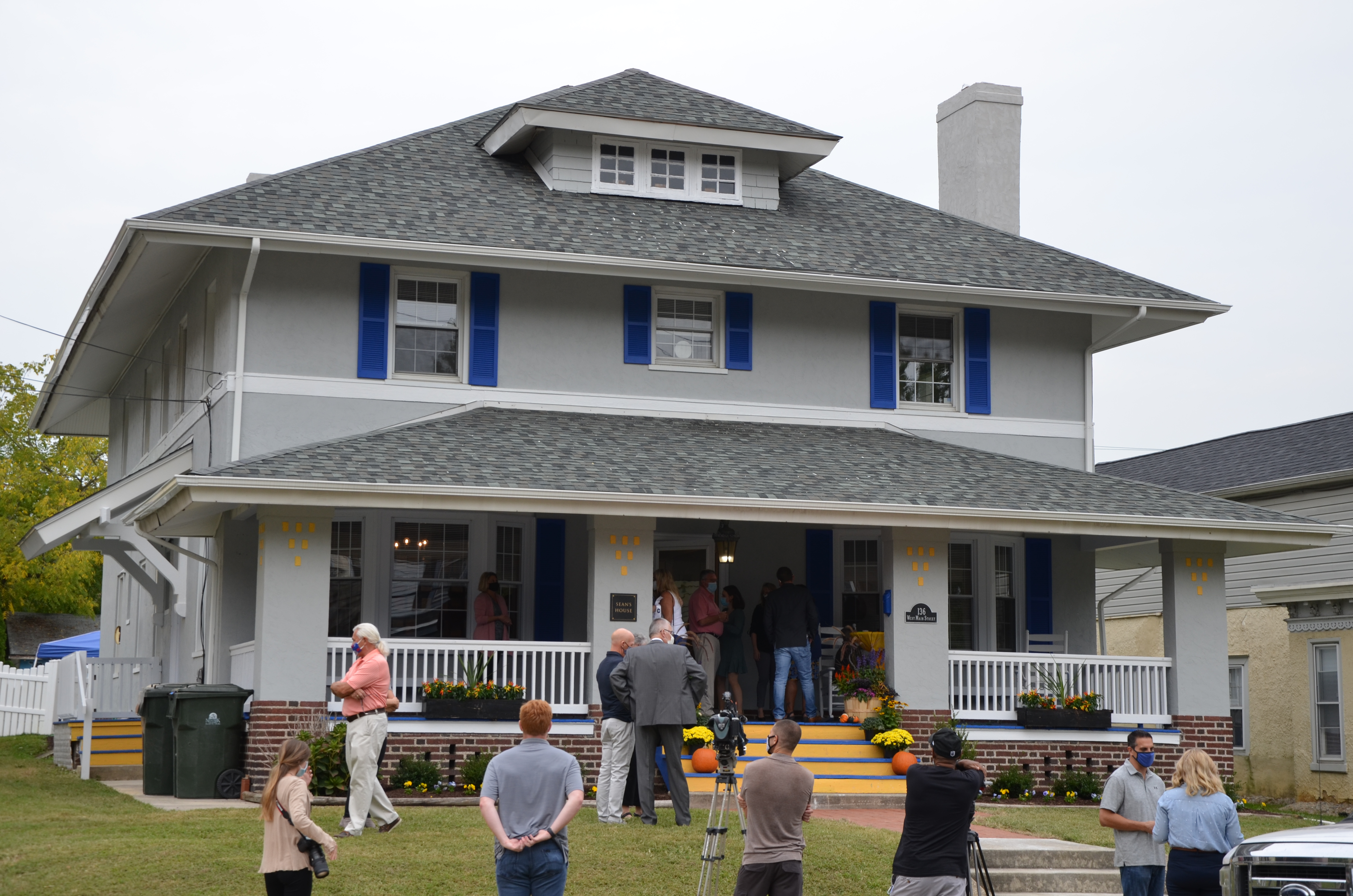 Sean's House officially opens, providing a priceless resource for Newark's young adults