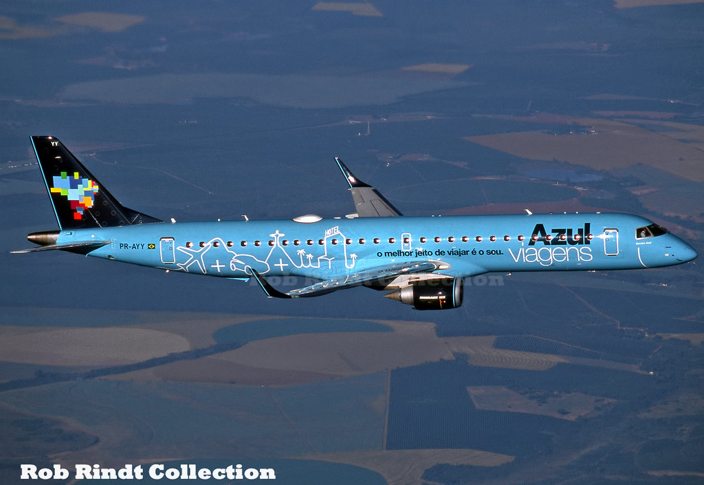Azul Airlines Embraer-195 PR-AYY