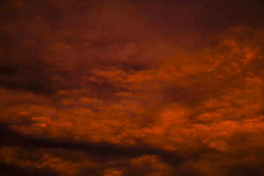 Mammato-cumulus, mamma clouds,