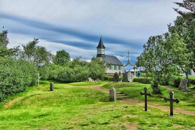 Thingvellir Church Oldest  ~  Thingvellir Nationalpark, Iceland