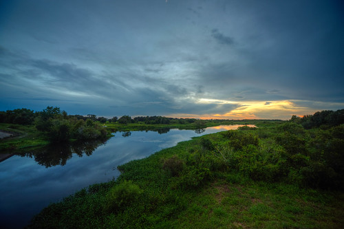 manatee river florida sun sunset cloud hdr landscape water fla manateeriver manateecounty