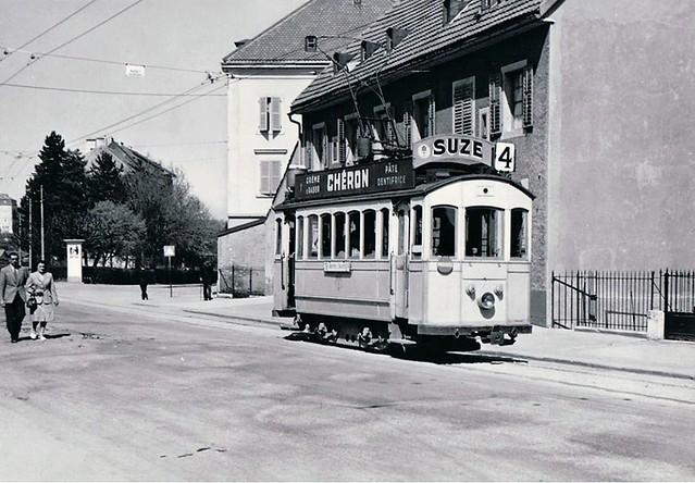 Trams de la Chaux-de-Fonds (Suisse)