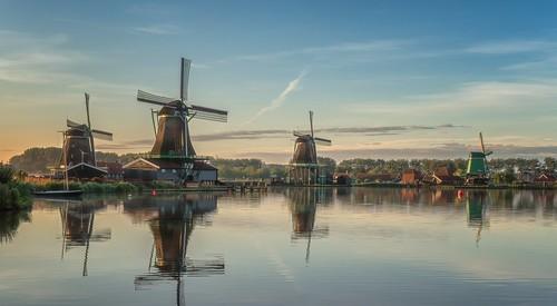 The mills of the Zaanse Schans