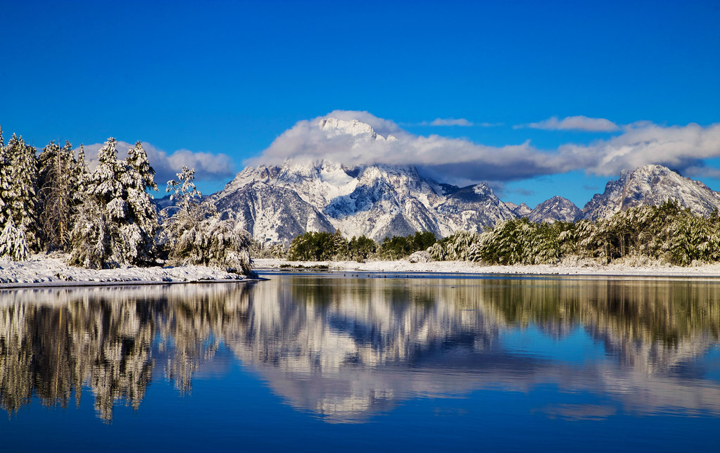 Early Gift at Oxbow Bend