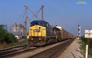 2000 05-14 0801-2 CSX CW40-8-7866 E/B S-276  Boughtonville, OH