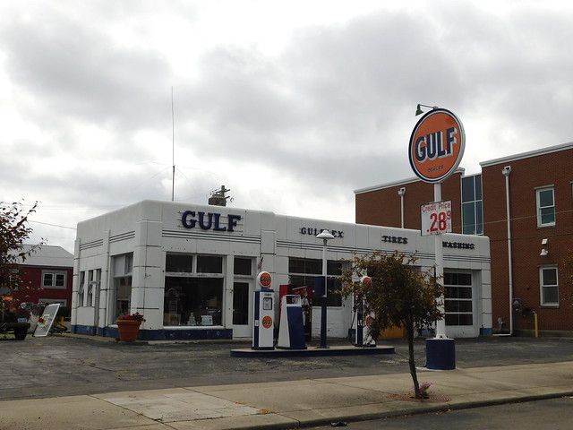 The Old Gulf Service Station