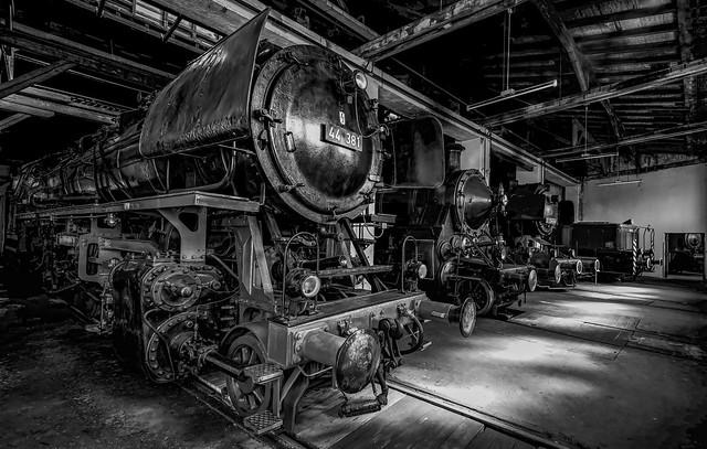 Eisenbahn Museum Nördlingen