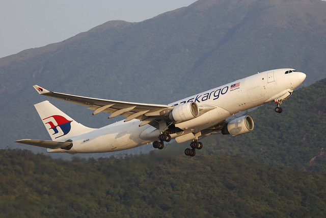 9M-MUA, Airbus A330-200F, MASKargo, Hong Kong