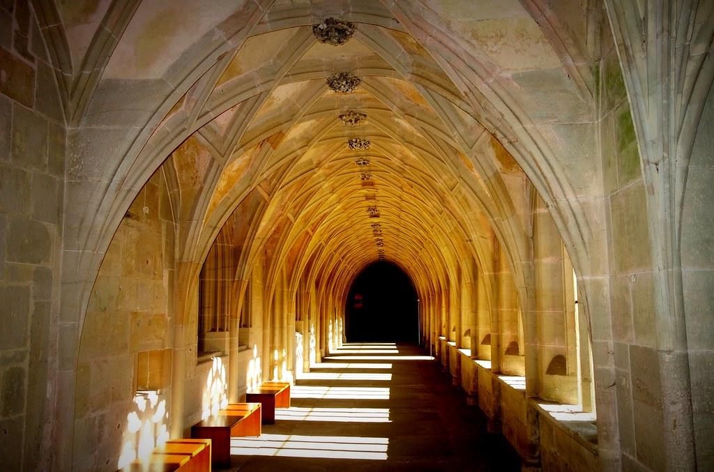 GERMANY, Zisterzienserkloster Bebenhausen - spätgotischer Kreuzgang  - 12988