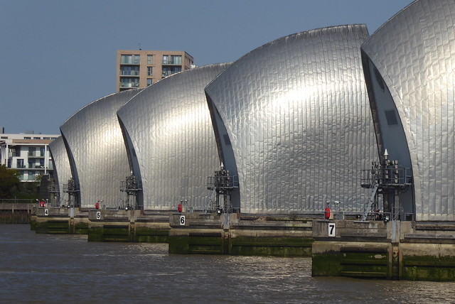 Thames Barrier, River Thames, East London