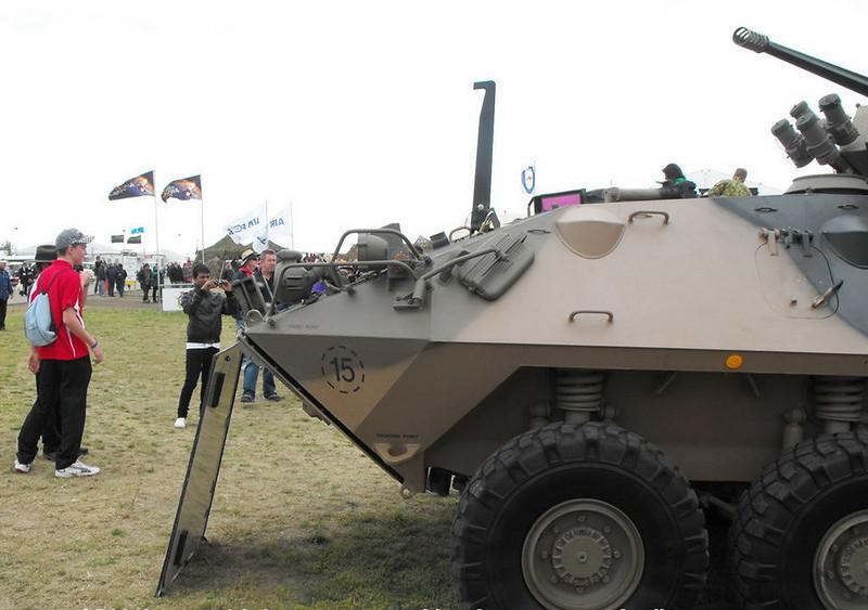 LAV sa 25mm Gun Turret