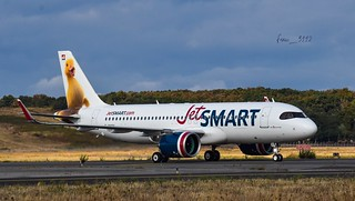 JetSMART Airbus A320-271N (F-WWDY CC-AWP MSN10069)