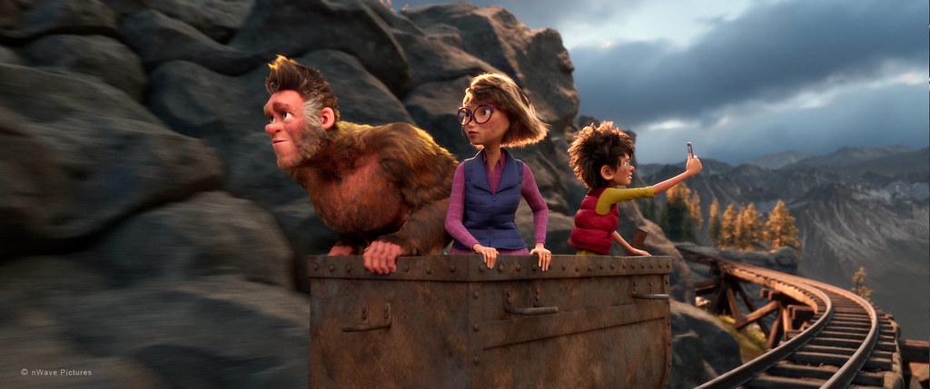 20200920《森林特攻隊:大腳丫家族》劇照。圖片來源:可樂電影