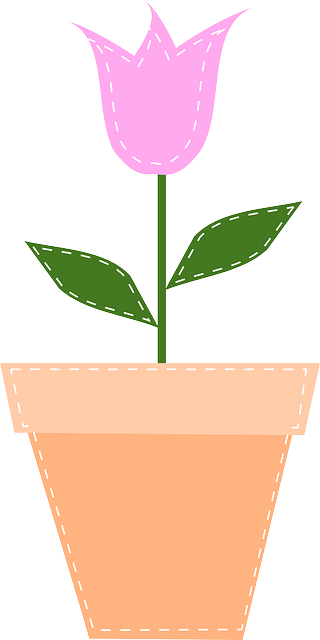 gambar bunga sederhana warna