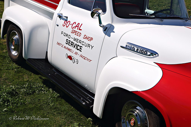 So-Cal Speed Shop Delivery Truck