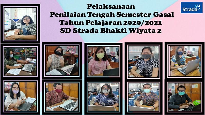 Pelaksanaan Penilaian Tengah Semester Gasal Tahun Pelajaran 2020/2021