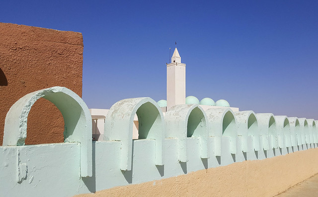 Happy Friday! / Ibn Abbas mosque in Nouakchott, Mauritania