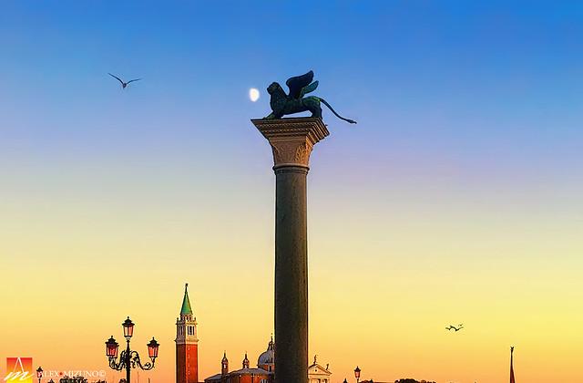 Twilight at Piazza San Marco
