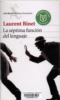 Laurent Binet, La séptima función del lenguaje