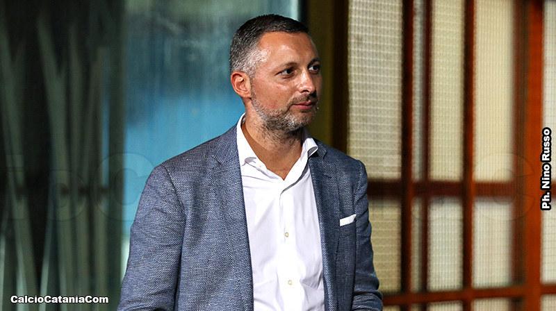 L'amministratore unico del Catania Nico Le Mura
