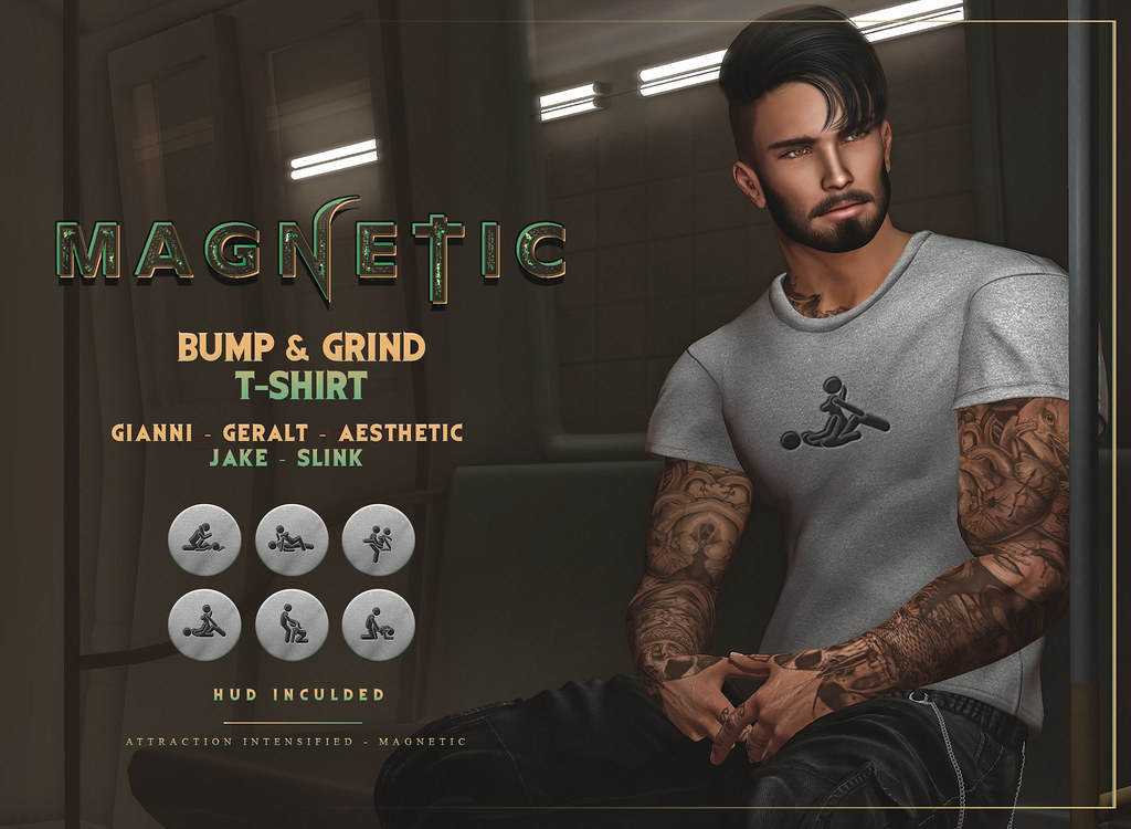 Magnetic – Bump & Grind T-Shirt
